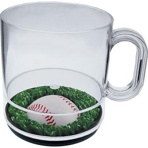 """Batter Up"" 12oz Compartment Coffee Mug"