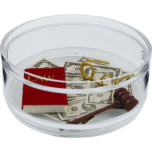 """At The Bar"" Compartment Coaster Caddy"